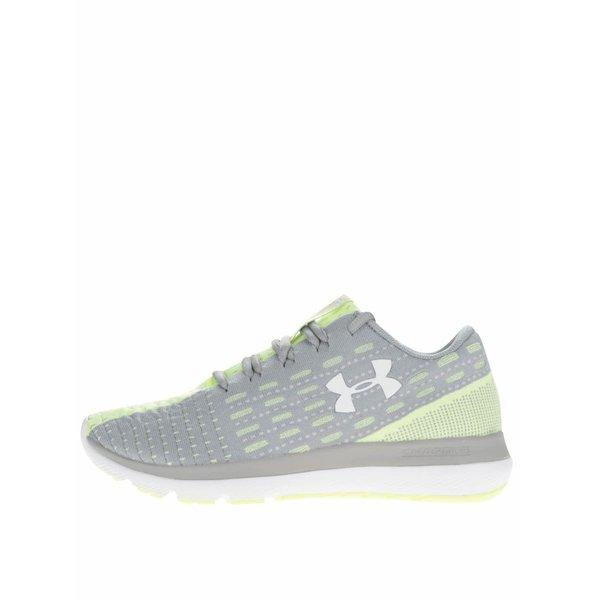 Pantofi sport verde cu gri pentru femei Under Armour UA Threadborne Slingflex