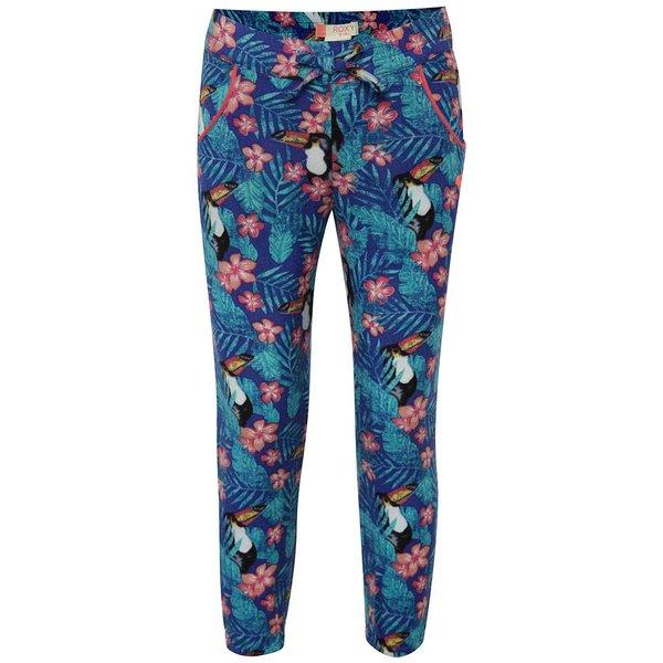 Pantaloni albaștri cu model Roxy de fete de la Roxy in categoria Pantaloni, pantaloni scurți, colanți