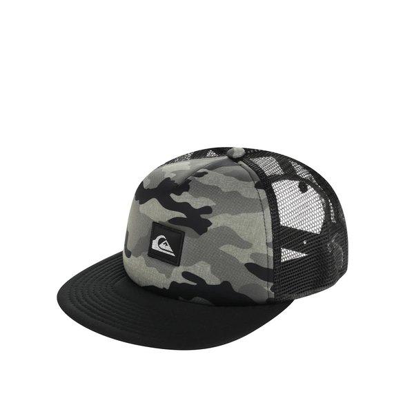 Șapcă neagră Quiksilver de băieți