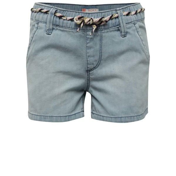 Pantaloni scurți albastru deschis Roxy de fete de la Roxy in categoria Pantaloni, pantaloni scurți, colanți