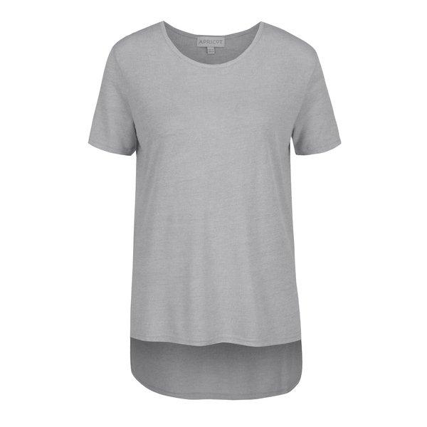 Bluză gri melanj Apricot cu croi asimetric de la Apricot in categoria tricouri