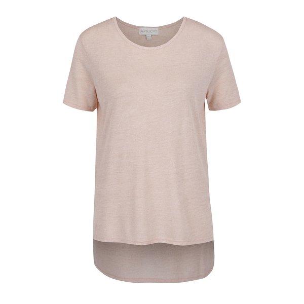 Bluză roz deschis Apricot cu croi asimetric de la Apricot in categoria tricouri