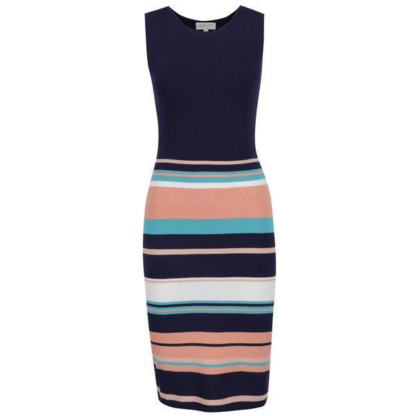 Rochie albastru închis Apricot cu model în dungi de la Apricot in categoria rochii casual