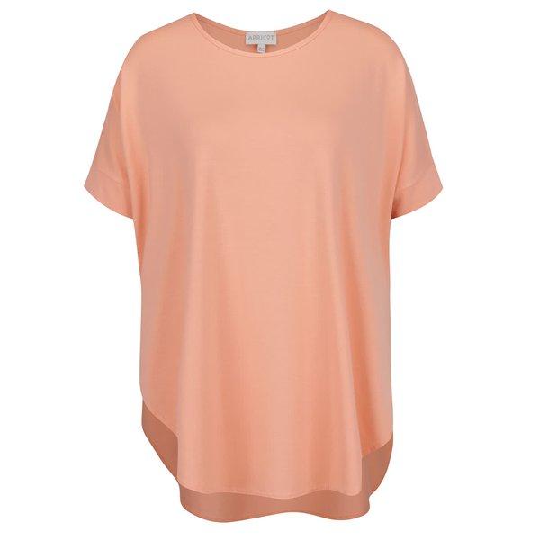 Top corai supradimensionat Apricot cu croi asimetric de la Apricot in categoria tricouri