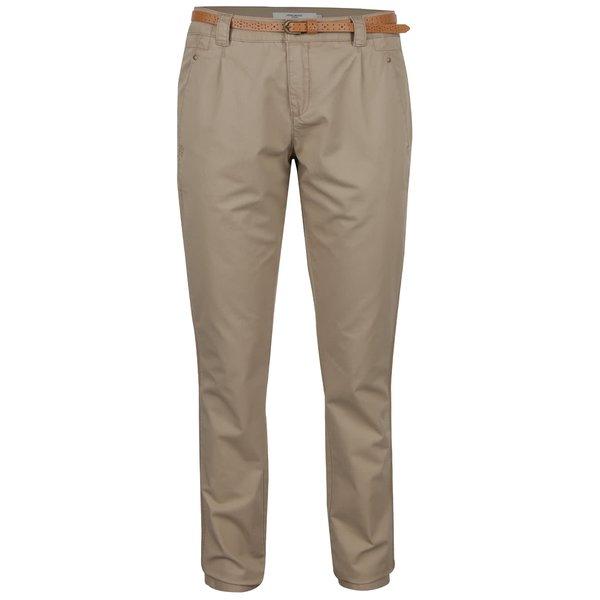 Pantaloni chino bej din bumbac - VERO MODA Boni