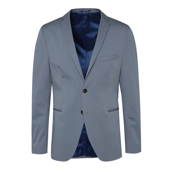 Sacou albastru deschis Selected Homme Abone-Cotton z