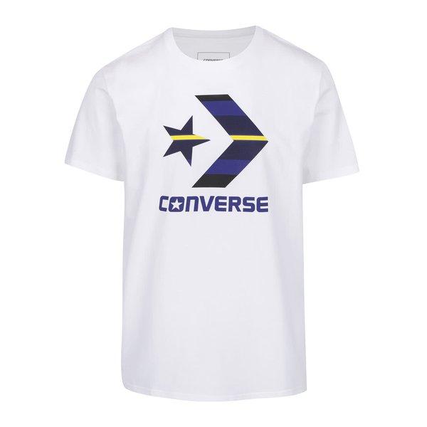Tricou alb Converse Star Chevron