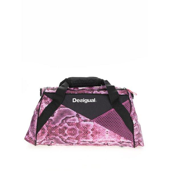 Geantă negru cu roz Desigual Sport Bols