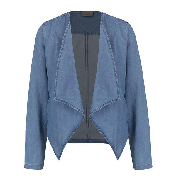 Sacou albastru deschis VERO MODA Emilia din denim de la VERO MODA in categoria Geci, jachete și sacouri