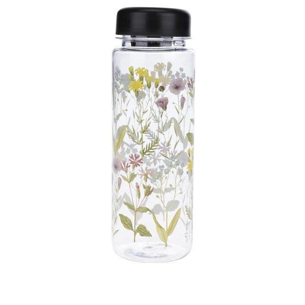 Sticlă transparentă Sass & Belle cu imprimeu floral 450 ml