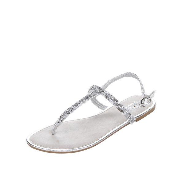 Sandale argintii Haily´s Molly cu aplicații de la Haily´s in categoria sandale