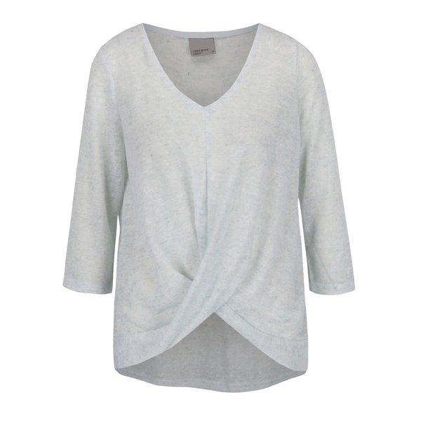Bluză gri deschis VERO MODA Sunshine