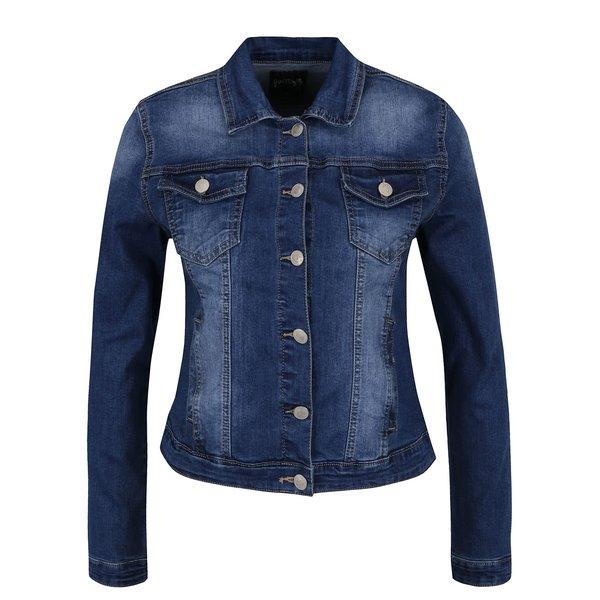 Jachetă albastră Haily's Enny din denim cu aspect prespălat de la Haily´s in categoria Geci, jachete și sacouri