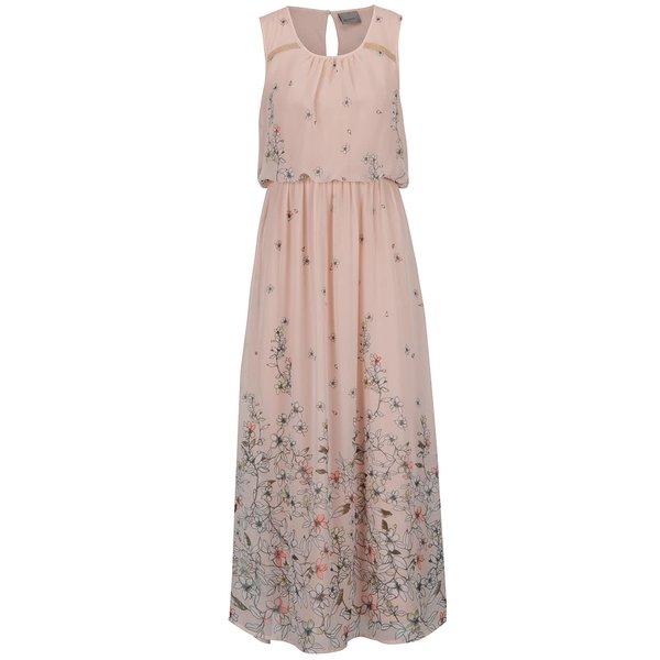 Rochie maxi roz VERO MODA Lea cu model de la VERO MODA in categoria rochii casual