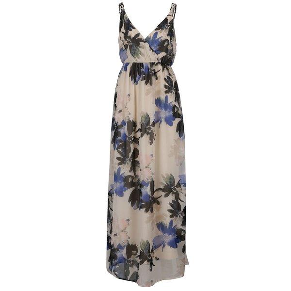 Rochie maxi crem VERO MODA Megan cu model floral de la VERO MODA in categoria rochii de seară