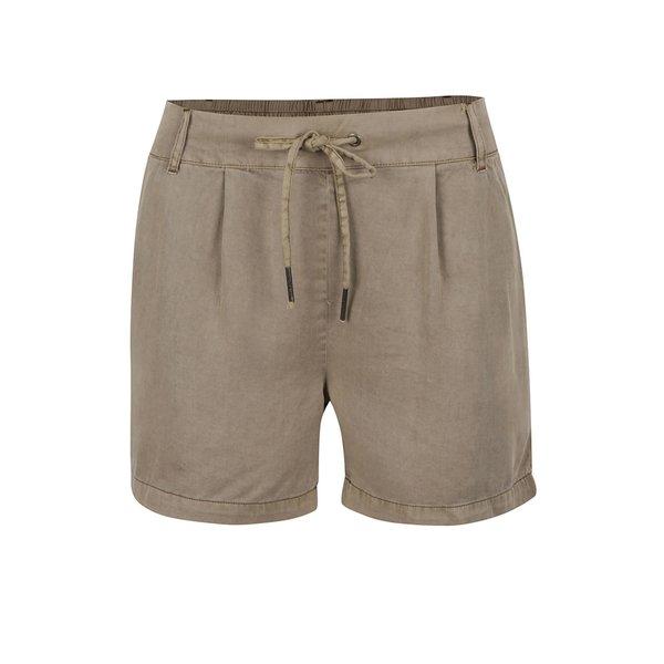 Pantaloni scurți bej ONLY Poptrash