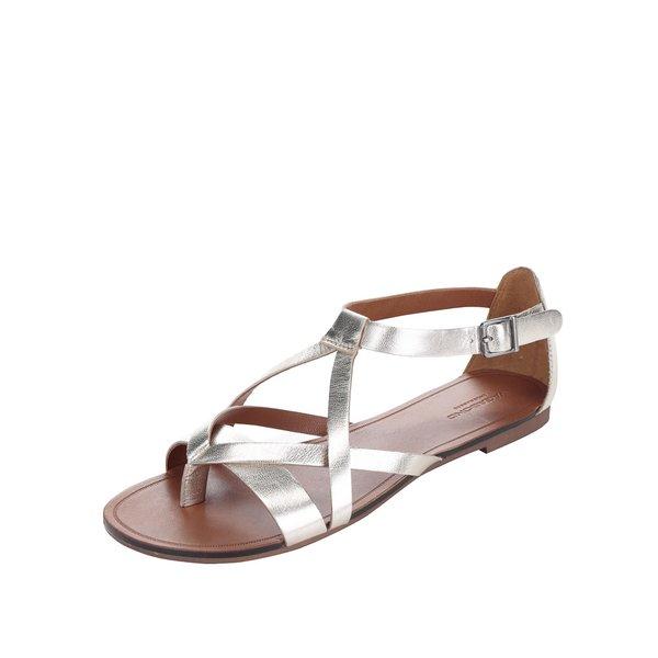 Sandale aurii Vagabond Tia din piele de la Vagabond in categoria sandale