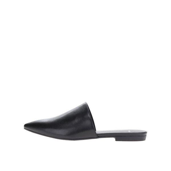 Pantofi negri Vagabond Katlin cu câlcâi decupat de la Vagabond in categoria șlapin