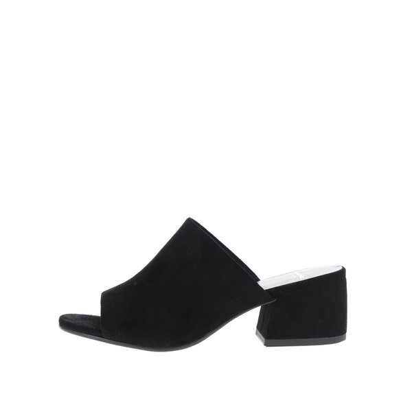 Sandale negre Vagabond Saide slip on de la Vagabond in categoria șlapin