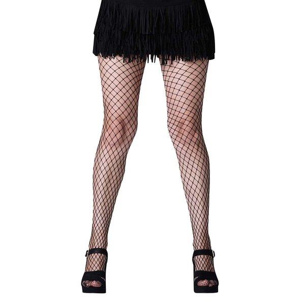 Dres negru Gipsy cu model tip plasa