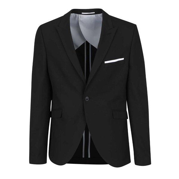 Sacou negru Selected Homme Done-Summer de la Selected Homme in categoria Geci, paltoane, jachete
