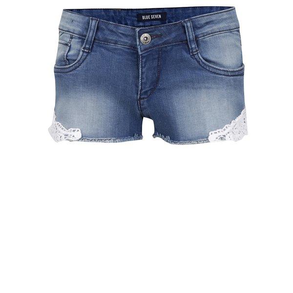 Pantaloni scurți din denim Blue seven pentru fete de la Blue Seven in categoria Pantaloni, pantaloni scurți, colanți