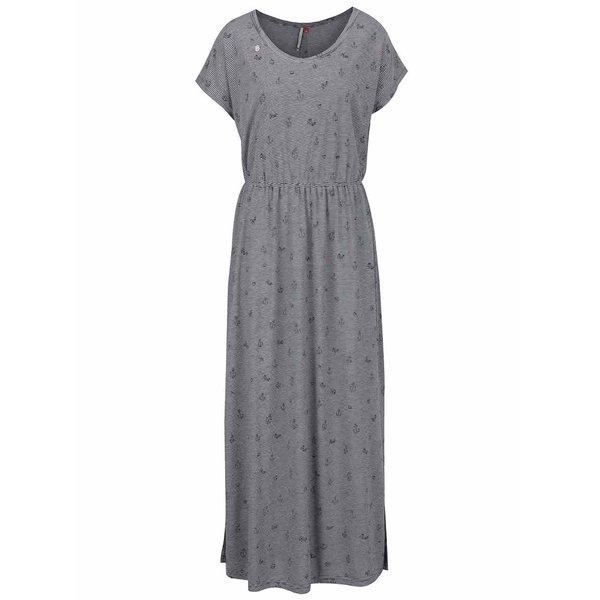 Rochie maxi albastră Ragwear Arlene cu model în dungi de la Ragwear in categoria rochii de vară și de plajă
