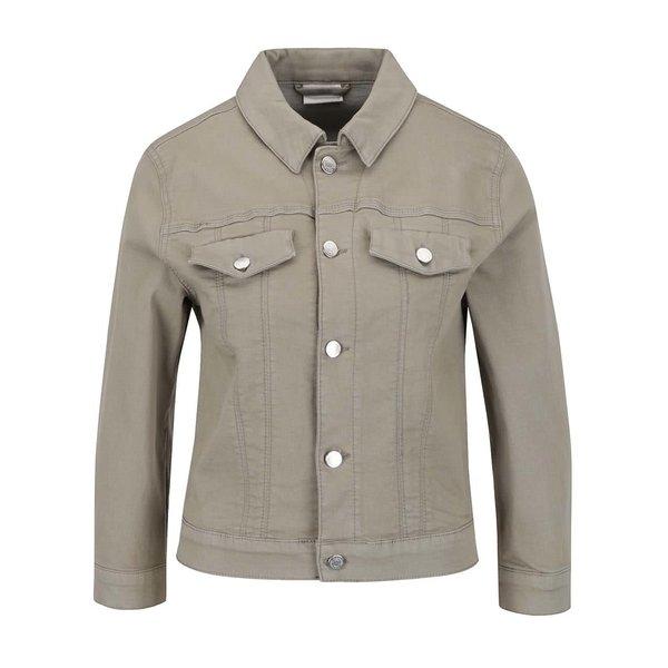 Jacheta verde militar VILA Birkin din denim