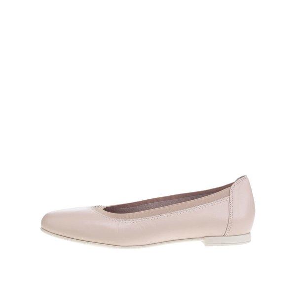 Balerini roz deschis OJJU din piele de la OJJU in categoria balerini