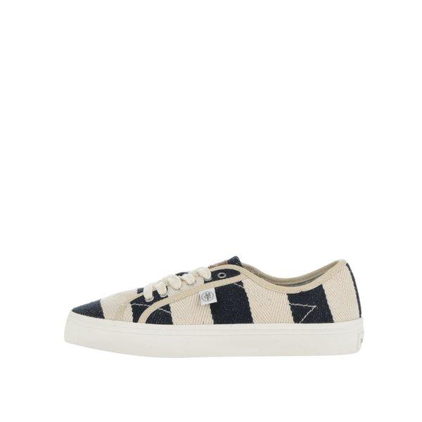 Teniși crem & albastru Marc O´Polo Sneaker pentru femei de la Marc O´Polo in categoria pantofi sport și teniși