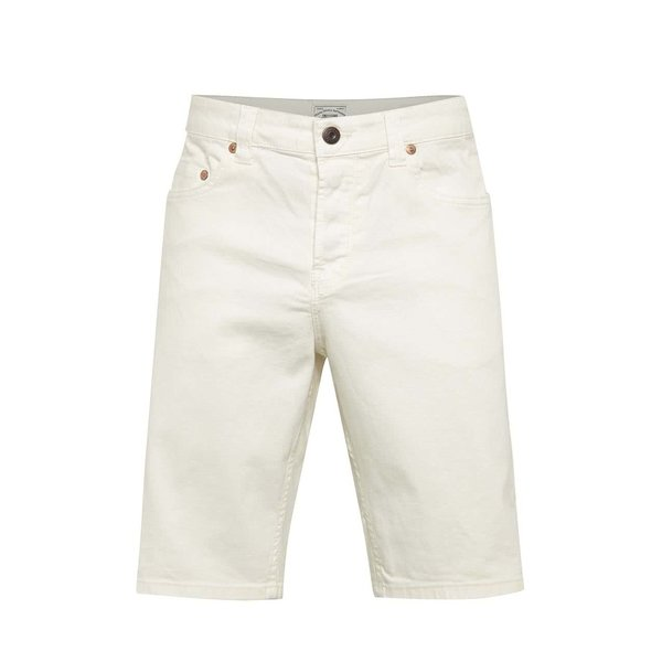 Pantaloni scurți crem ONLY & SONS Loom din denim cu croi drept de la ONLY & SONS in categoria Blugi, pantaloni, pantaloni scurți
