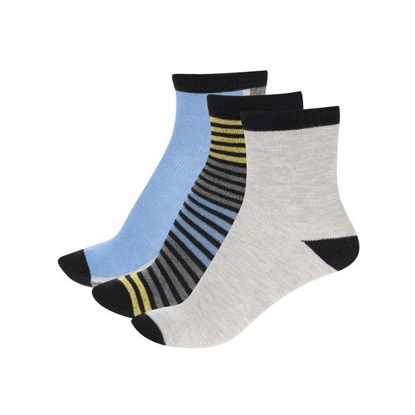 Set multicolor cu 3 perechi de șosete 5.10.15. pentru băieți