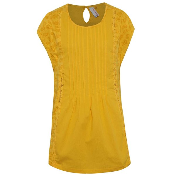 Bluză portocalie 5.10.15. cu mâneci scurte