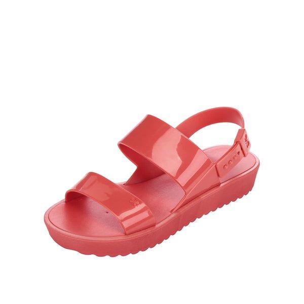 Sandale roșii cu platformă Zaxy de la Zaxy in categoria sandale