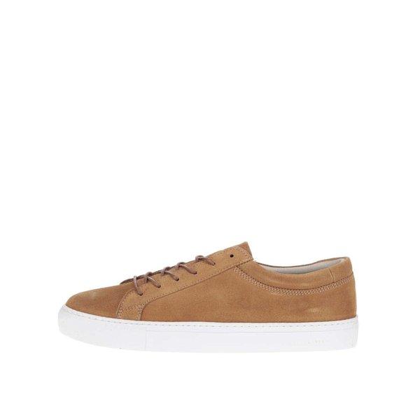Pantofi sport maro Jack & Jones Galaxy din piele întoarsă de la Jack & Jones in categoria pantofi sport și teniși