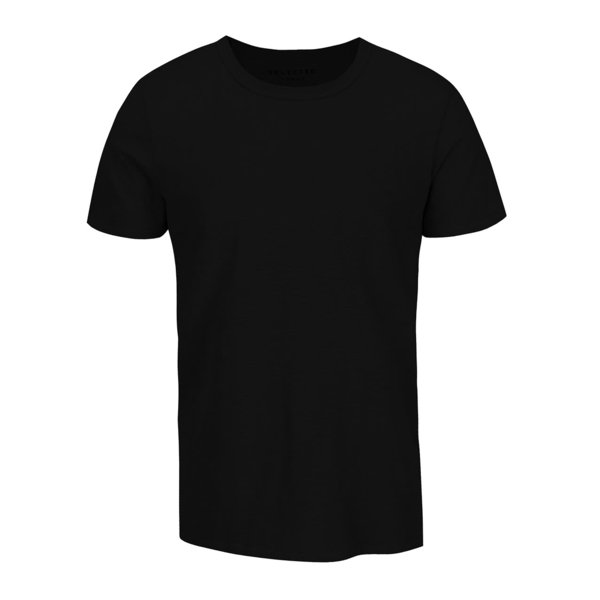 Tricou basic negru ONLY & SONS Basic cu croi drept de la ONLY & SONS in categoria tricouri