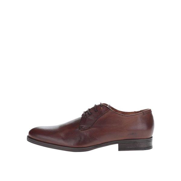 Pantofi maro Jack & Jones Magnus din piele de la Jack & Jones in categoria pantofi și mocasini