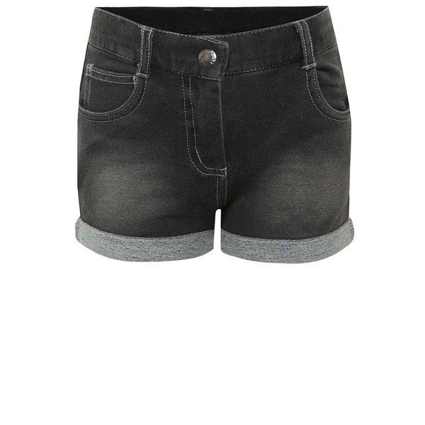 Pantaloni scurți gri Bóboli din denim