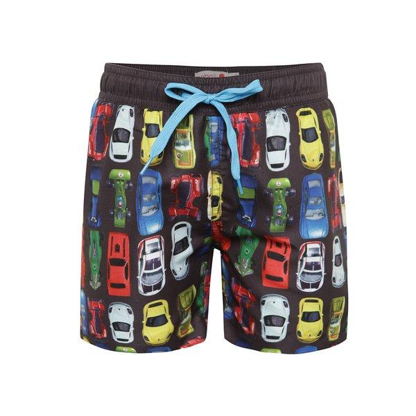 Pantaloni scurți negri de baie Bóboli cu model pentru băieți de la BÓBOLI in categoria Lenjerie intima, slipuri