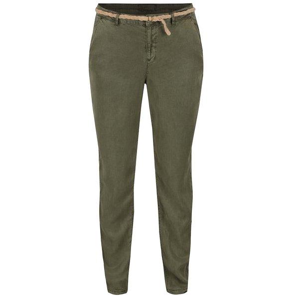 Pantaloni chino kaki VERO MODA Zoe de la VERO MODA in categoria Blugi, pantaloni, colanți
