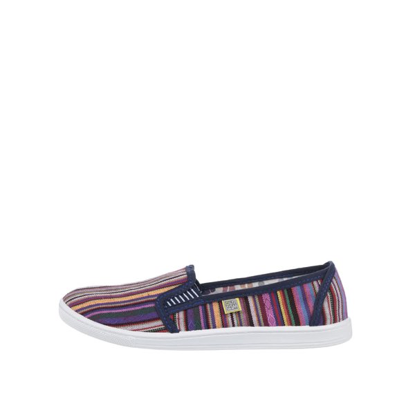 Teniși slip-on multicolori de damă Oldcom Etno de la Oldcom in categoria pantofi sport și teniși