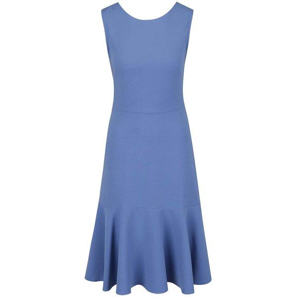 Rochie albastru deschis Closet cu volan în partea inferioară de la Closet in categoria rochii casual