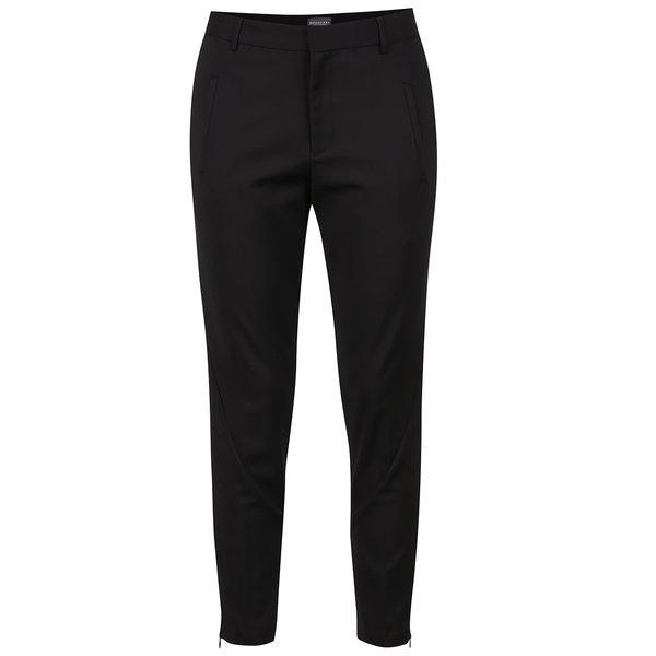 Pantaloni negri Broadway Deondra cu buzunare laterale de la Broadway in categoria Blugi, pantaloni, colanți