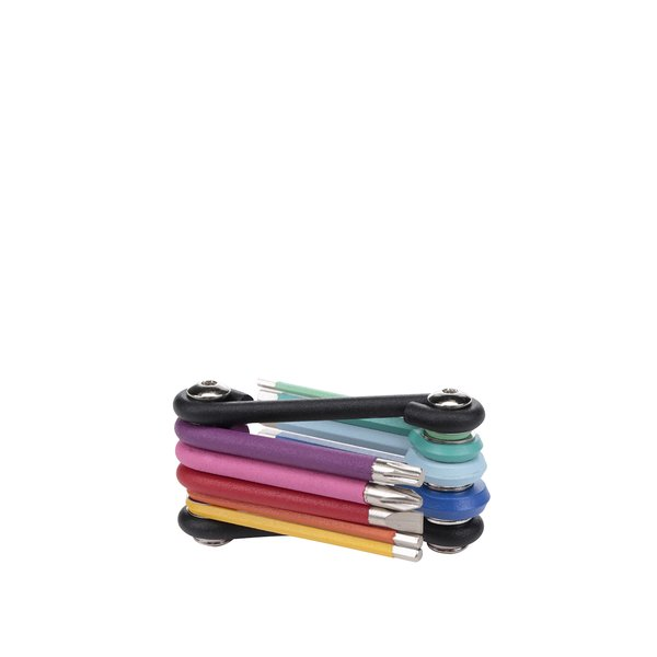 Set 9 șurubelnițe multicolore Kikkerland de la Kikkerland in categoria CASĂ ȘI DESIGN