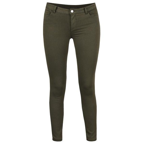Pantaloni slim fit kaki - VILA Commit
