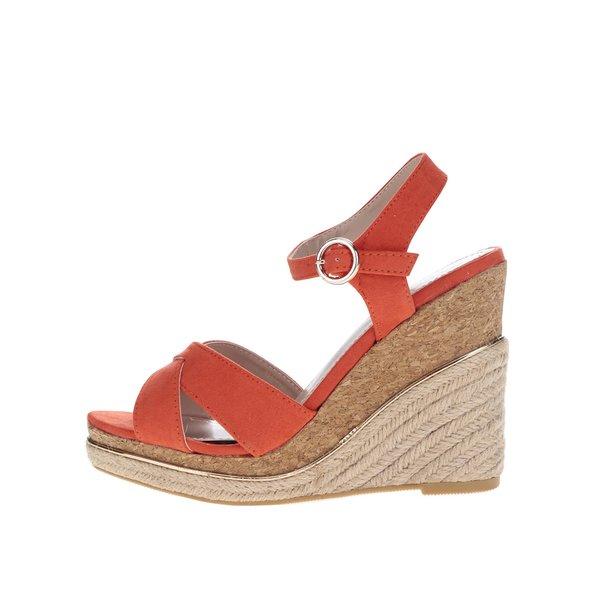 Sandale roșii cu platformă Dorothy Perkins de la Dorothy Perkins in categoria pantofi cu platformă