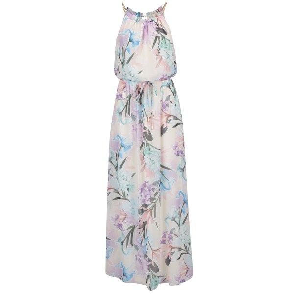Rochie maxi crem Dorothy Perkins cu imprimeu floral de la Dorothy Perkins in categoria rochii de vară și de plajă