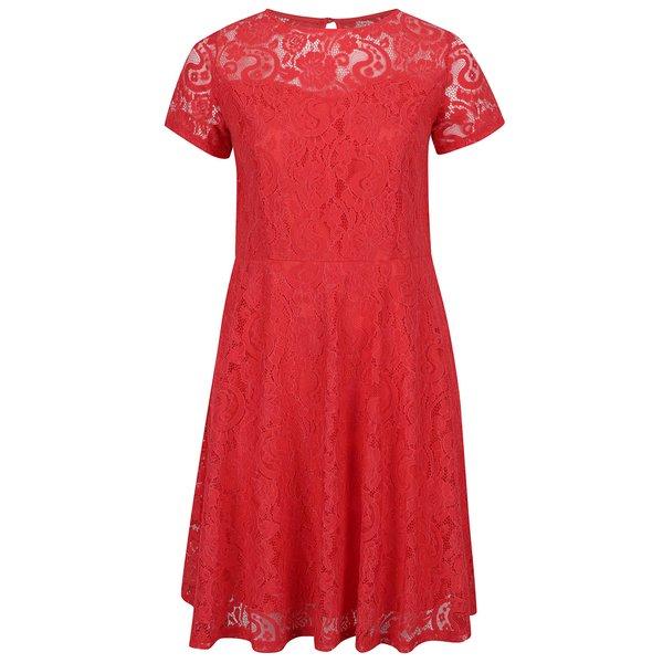 Rochie roșie Dorothy Perkins Curve din dantelă de la Dorothy Perkins Curve in categoria rochii de seară