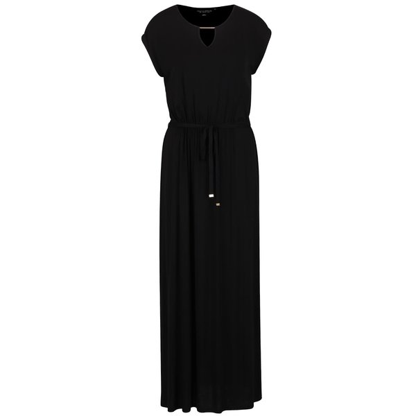 Rochie maxi neagră Dorothy Perkins cu decolteu rotund de la Dorothy Perkins in categoria rochii de vară și de plajă