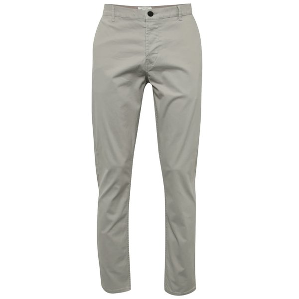 Pantaloni chino gri deschis ONLY & SONS Sharp